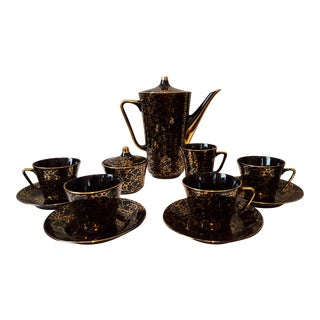 Mid-Century Coffee Set - Service for 4