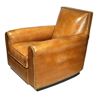 New Ralph Lauren Distressed Leather Colorado Club Chair