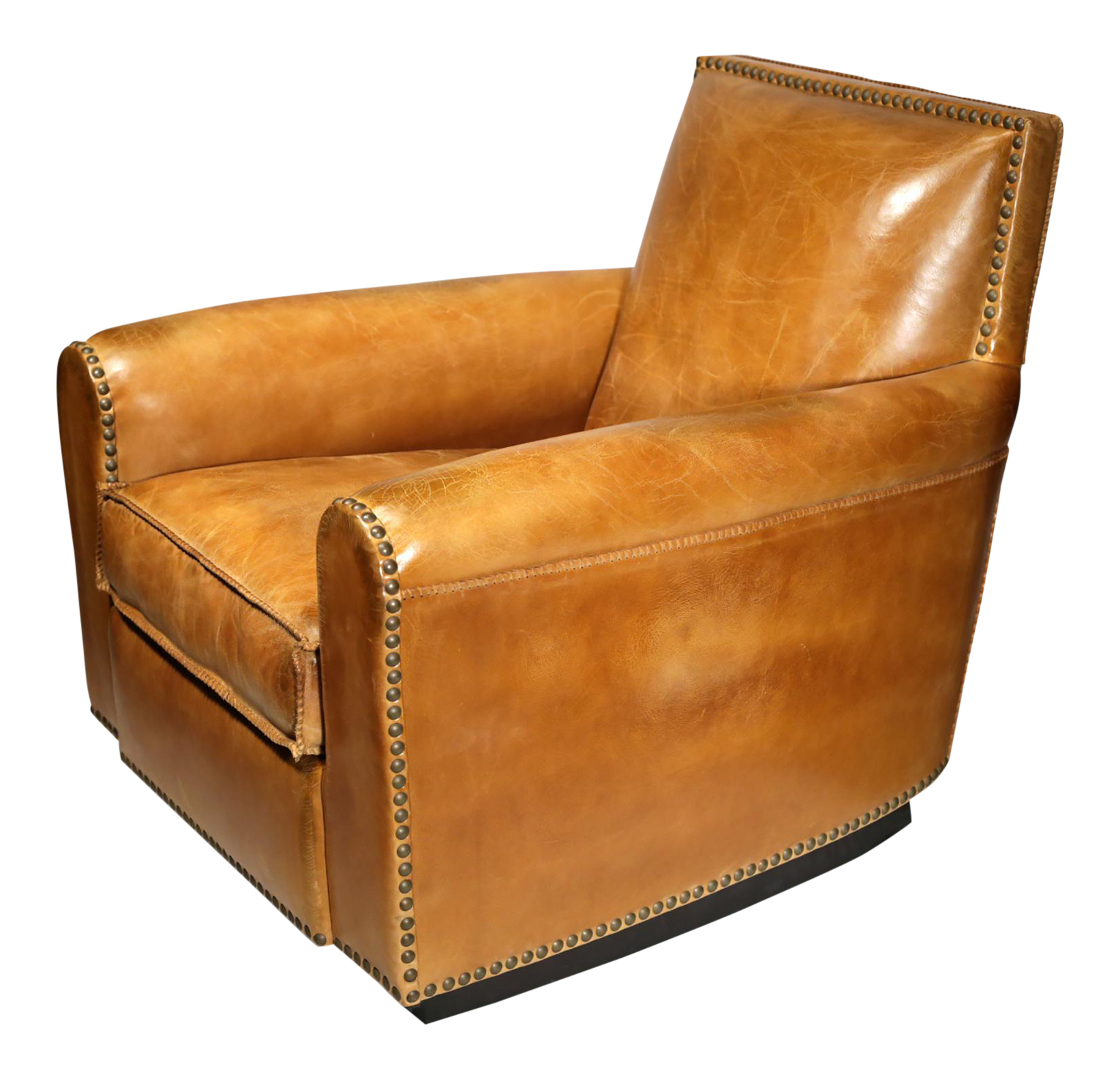 ralph lauren distressed leather colorado club chair - Brown Leather Club Chair