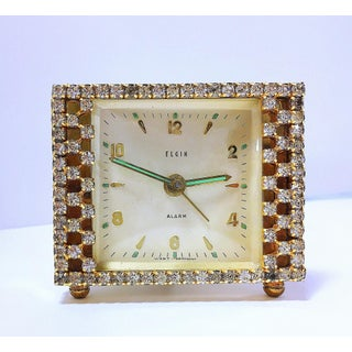 Late 1940's Elgin Alarm Clock