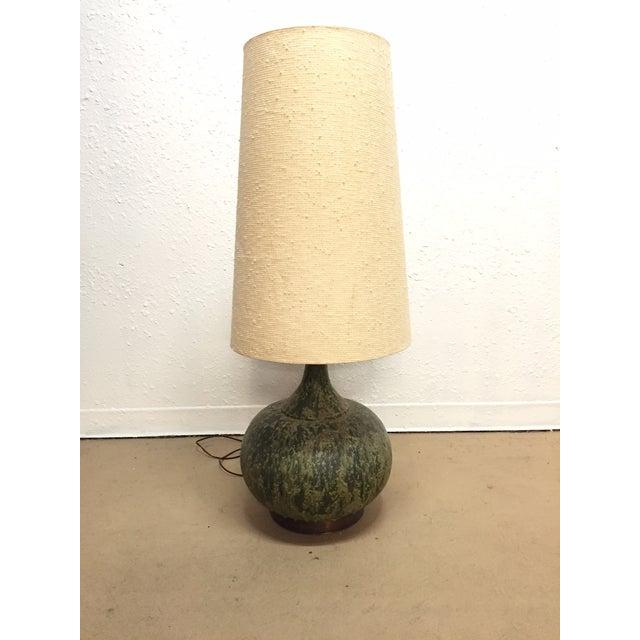 Image of Monumental Lava Glaze Table Lamp