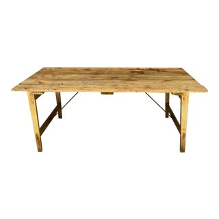 Mid-19th Century French Farm Table
