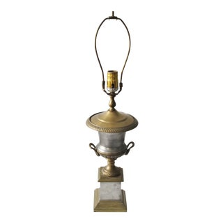 Neoclassical Trophy Urn Lamp