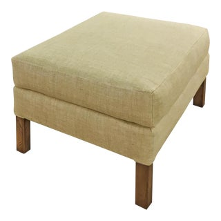 Sarreid Ltd Brittany English Ottoman