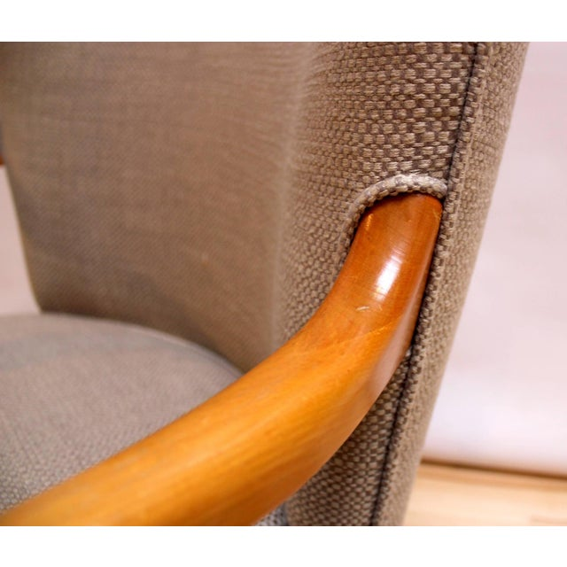 Mid-Century Modern Lounge Chairs - Pair - Image 9 of 10