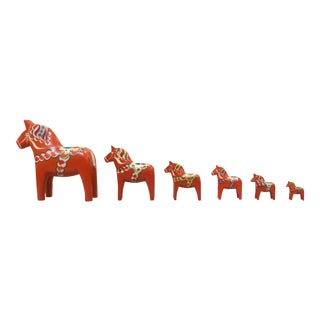 Dala Horse Set - Set of 6