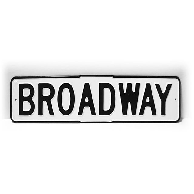 Enamel Broadway Street Sign - Image 4 of 4