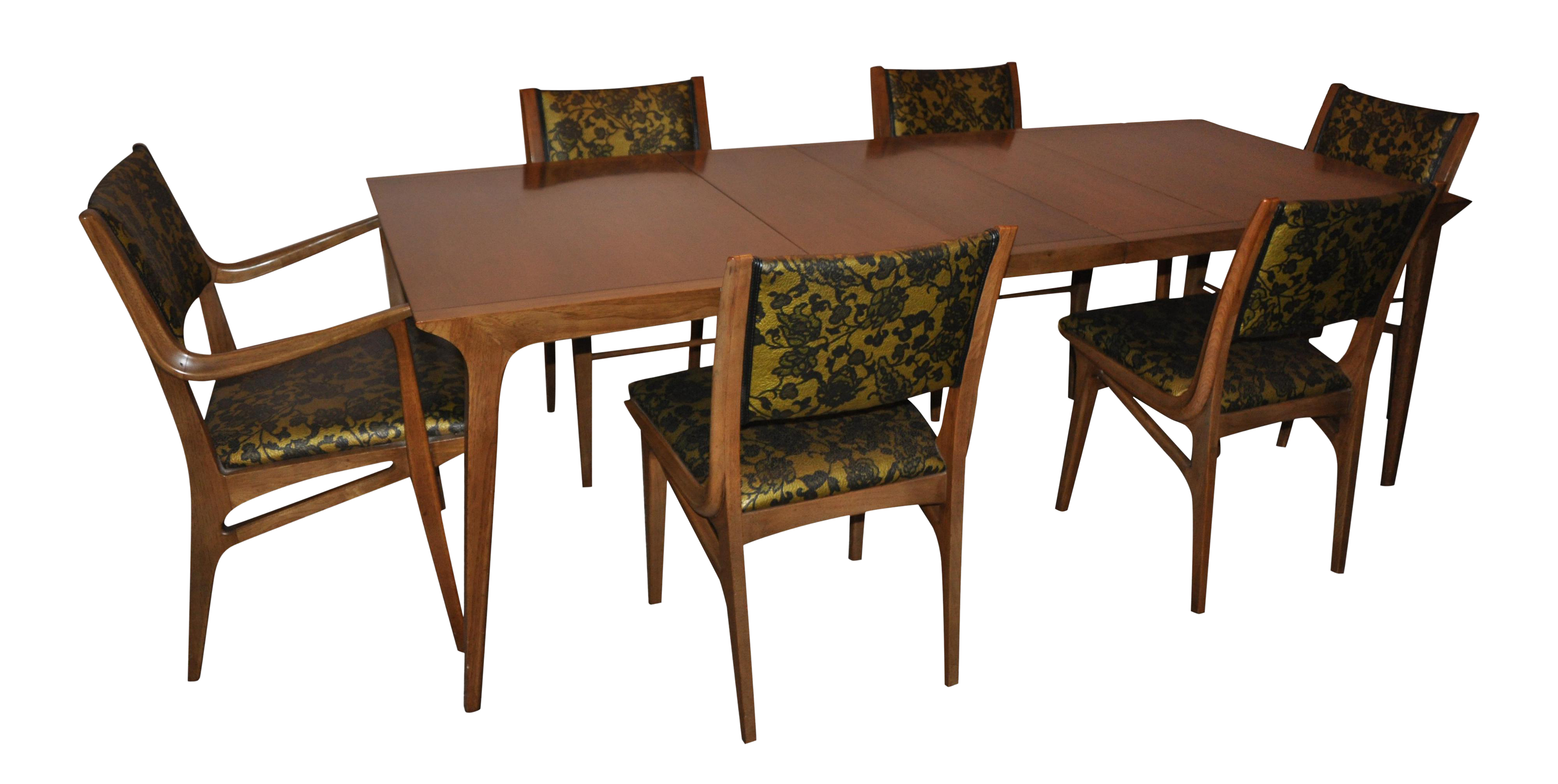 Drexel Mid Century Dining Room Set   Set Of 6 Part 89