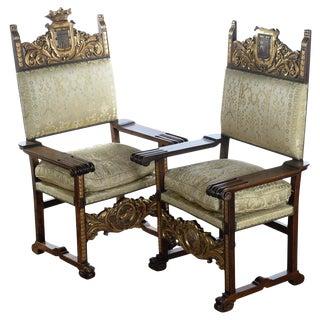 Renaissance Arm Chairs - Pair