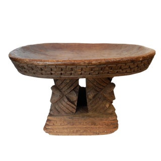 Old wood Bamileke Stool Cameroon