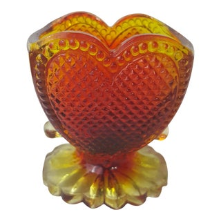 Degenhart Heart Shaped Toothpick Holder