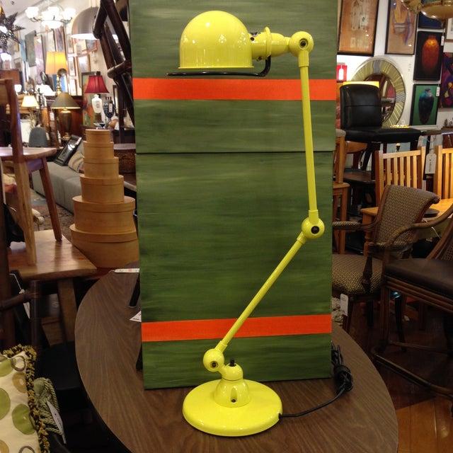 Jielde Yellow Sulfur Loft Desk Lamp - Image 6 of 10