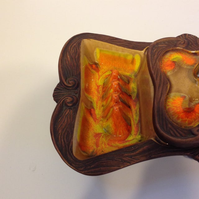 Image of Vintage California Pottery Cigar Tray