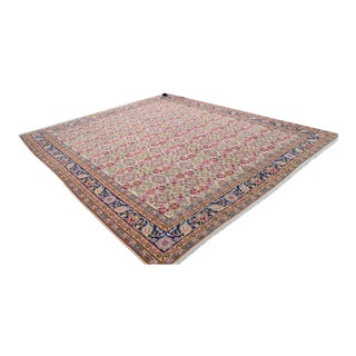 Vintage Turkish Kilim Rug - 16′6″ × 19′7″