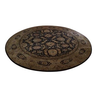 "Hand Woven Persian Design Round Rug - 11'5"" X 11'-5"""