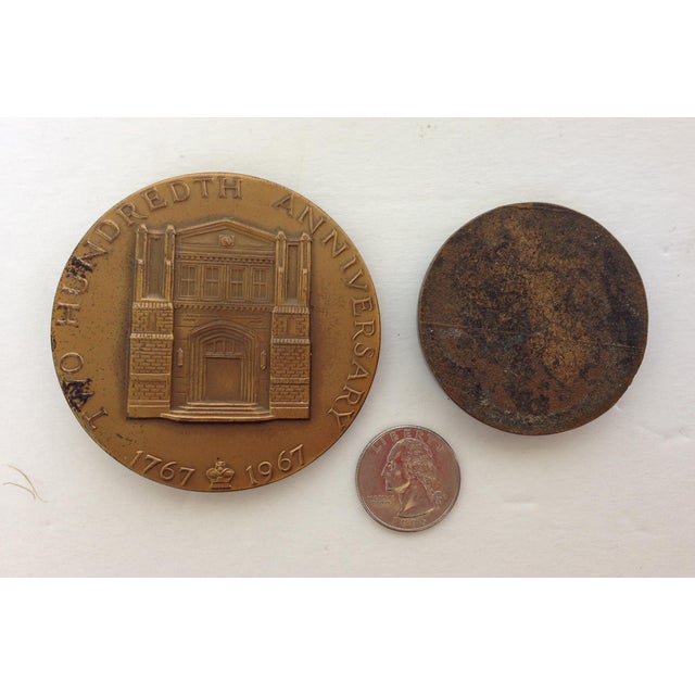 Vintage Medal Medallions & Paperweights - Set of 5 - Image 7 of 9