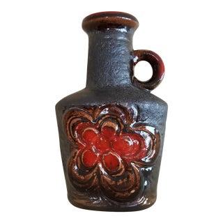 Vintage German Fat Lava Pottery Vase