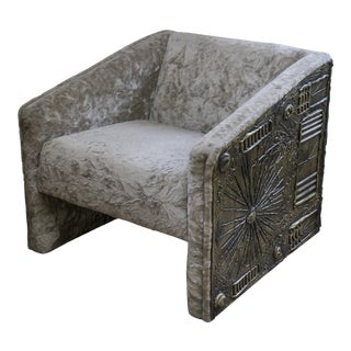 Adrian Pearsall Brutalist Lounge Chair