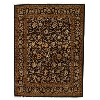 """Hand Knotted Persian Tabriz Rug - 4'10"""" X 6'6"""""""