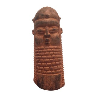 Primitive Wooden Figure