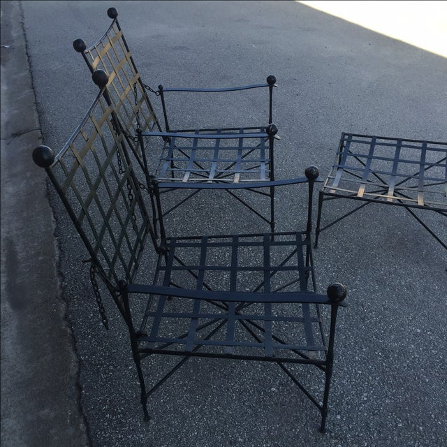Mario Papperzini Salterini Lounge Chairs - Pair - Image 4 of 8