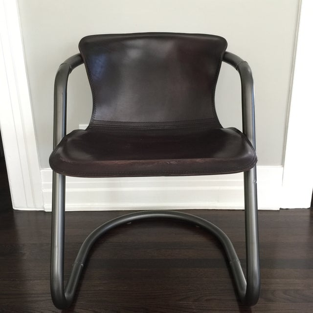 Duke Leather Accent Chairs - Set of 6 - Image 2 of 7