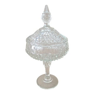 1950's Pressed Glass Candy Dish