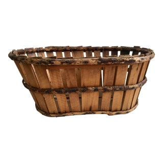 Handmade French Fruit Basket