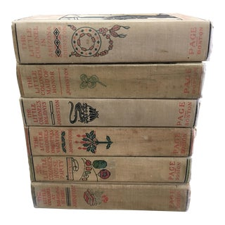 1920s Little Colonel Books - Set of 6