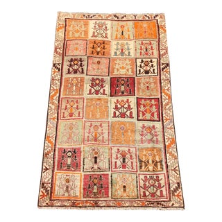 Semi Antique Gabbeh Shiraz Persian Rug - 4′2″ × 7′1″