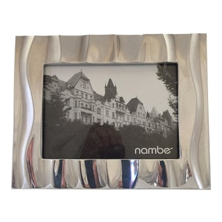 """Nambe """"Dune"""" Picture Frame"""