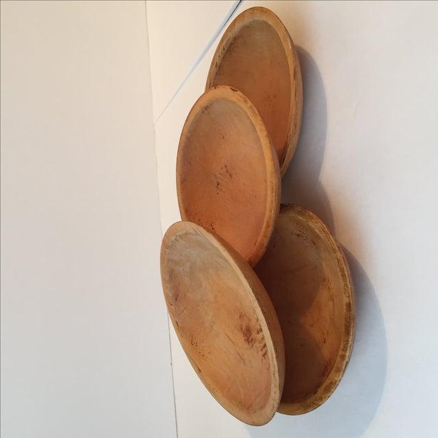 Primitive Wood Bowls - Set of 4 - Image 10 of 11