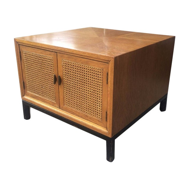 Vintage Paul McCobb-Style Cane Table - Image 1 of 7