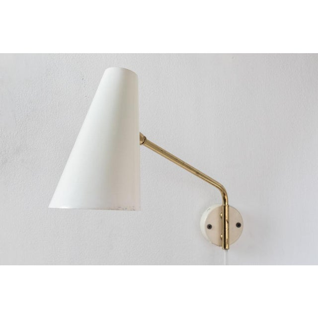 1960s Cosack Leuchten Articulating Wall Light - Image 6 of 9