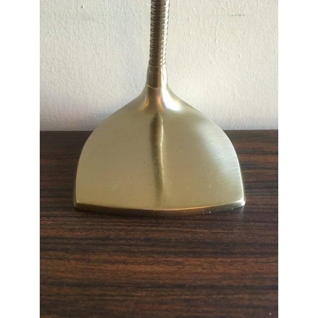 Mid-Century Brass Desk Lamp - Image 6 of 9