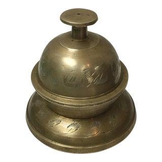 Brass Butler's Table Bell