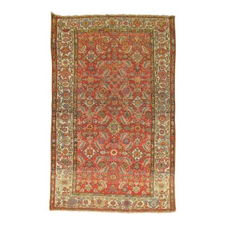 Anitque Persian Malayer Rug - 4'11'' X 8'11''