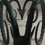 Image of A Large Rams Head Based Dining Table 1970s