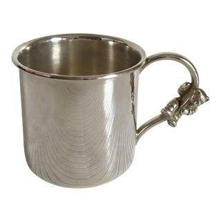 Ralph Lauren Silver Plate Polo Bear Baby Cup