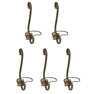 Vintage European Hooks - Set of 5