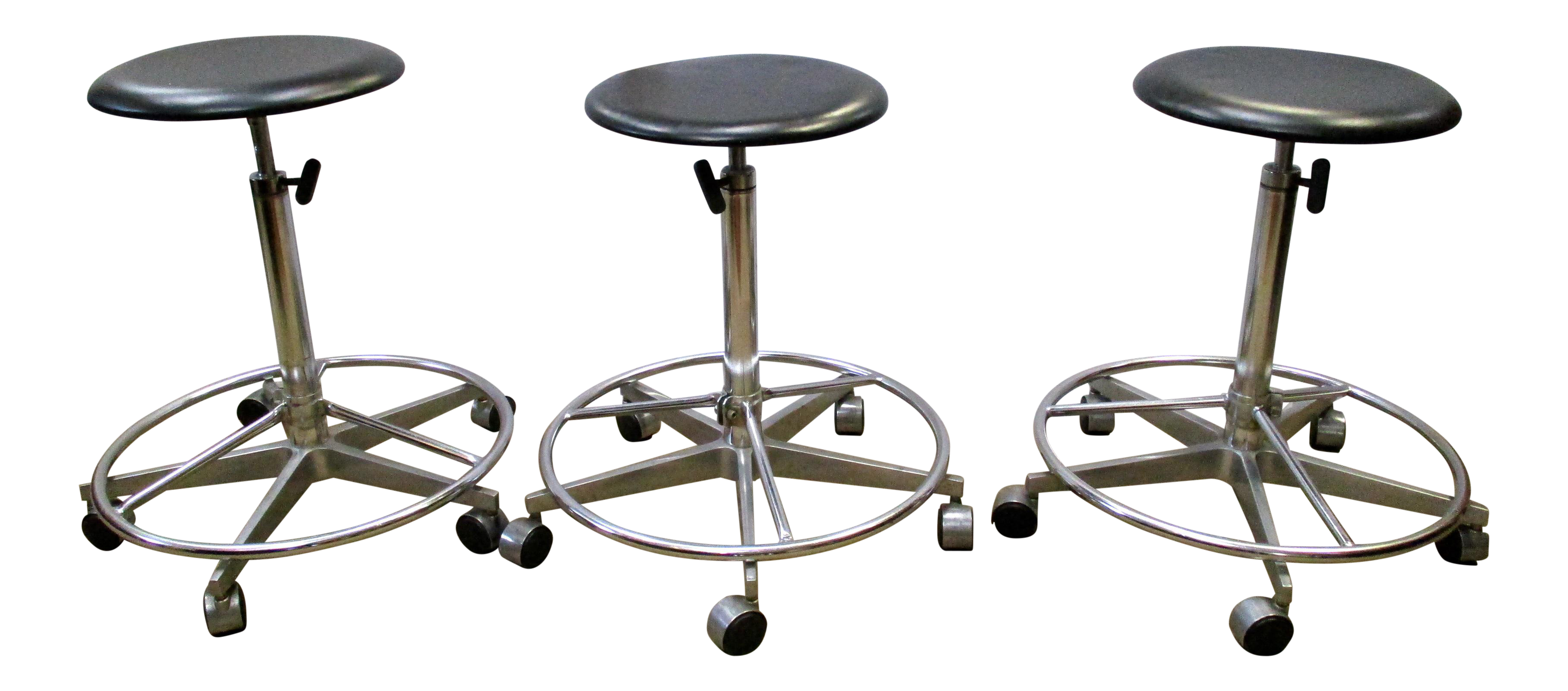 Industrial Adjustable Metal Rolling Stools Set of 3  : ee31875c 6765 4afb 9feb 38ba5c1bc4faaspectfitampwidth640ampheight640 from www.chairish.com size 640 x 640 jpeg 29kB