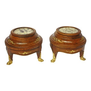 Louis XV Style Plant Stands with Ormolu
