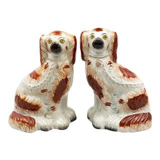 Pair of Stafforshire Dogs, Circa 1870