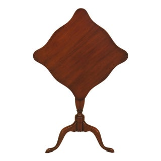 Kittinger Tilt Top Mahogany CW-11 Williamsburg Table