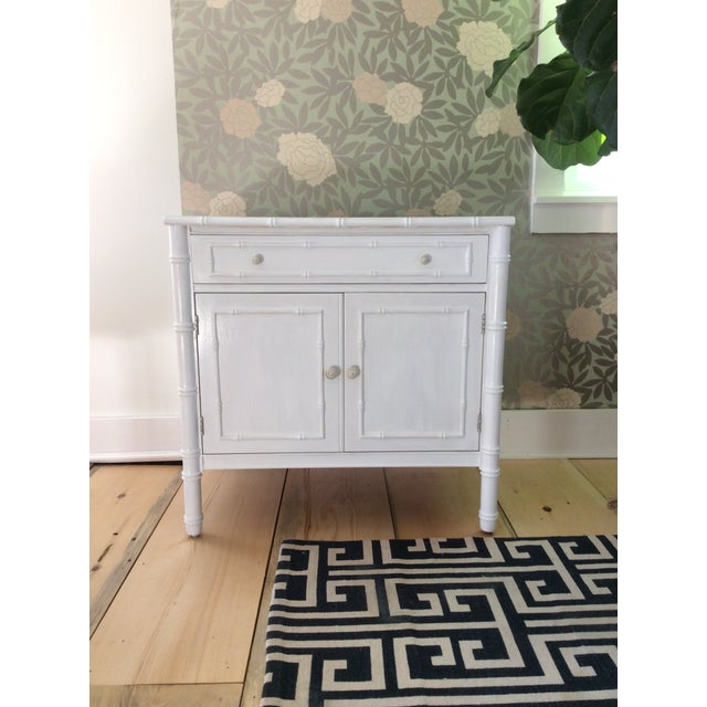 Thomasville Faux Bamboo Sideboard - Image 3 of 3