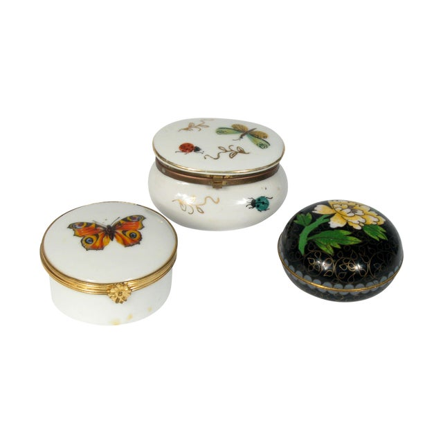 Dresser Ring Jars - S/3 - Image 1 of 3