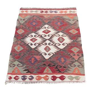 Hand Woven Anatolian Kilim - 4'3'' x 2'8''