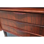 Image of Mid Century Rosewood Corner Cabinet