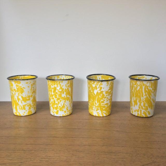 Vintage Yellow Enamelware - Set of 15 - Image 6 of 10