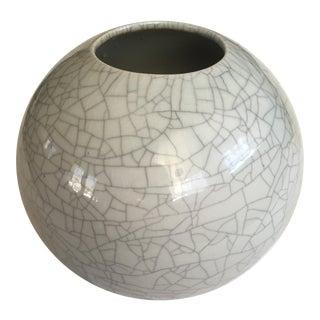 Mid-Century Sphere Ceramic Vase
